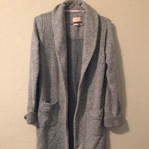 Victoria secret soft knit open jacket